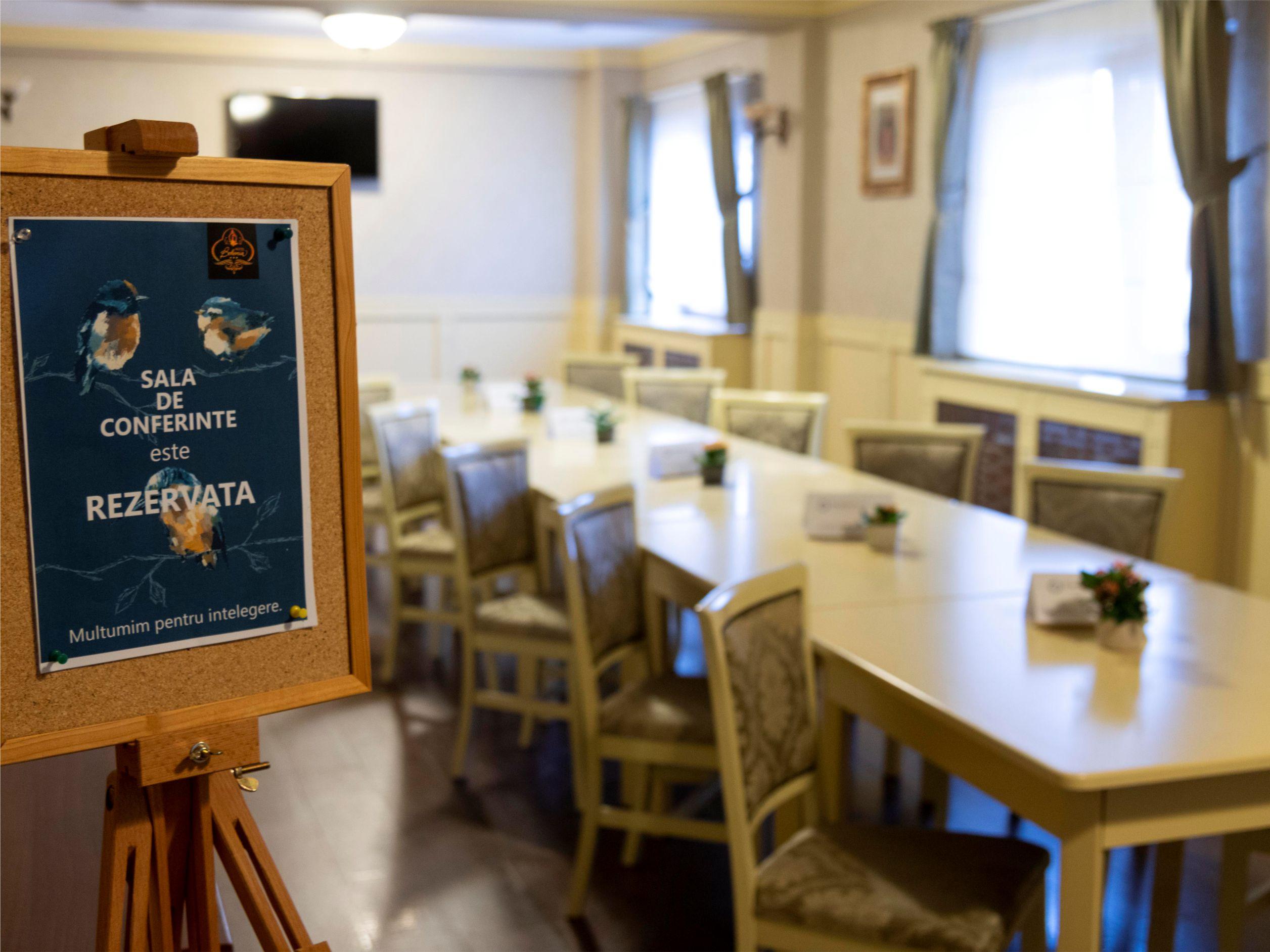 Hotel Bohemia Bacau - Sala de Conferinte
